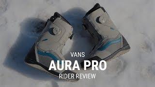2e77415af06c Vans Aura Pro 2019 Snowboard Boot Review - Tactics.com ...