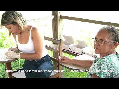 Itinerante de Saúde no Ramal Copaíba - Bujari - Acre