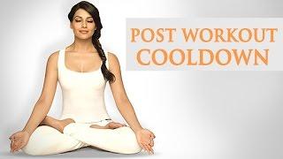 6 Min Cool Down - Post Exercise Routine - Bipasha Basu Workout