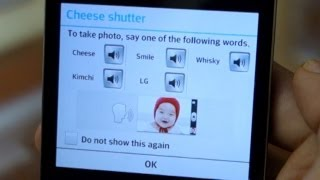 Cheese! Whisky! Kimchi! LG Optimus G camera voice command  test