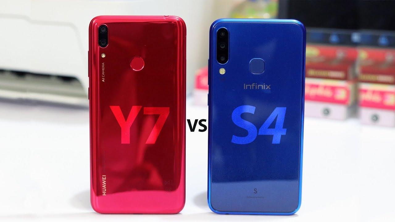 Infinix S4 vs Huawei Y7 Prime 2019