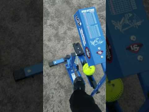 Louisville Blue Flame Pitching Machine