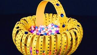 How to Make Foam Basket in Simple Way