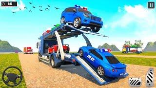 US Police Robot Car Transporter Plane Simulator - Android Gameplay screenshot 3
