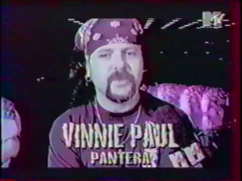 Pantera (Interview + live) - Kongresscentrum, Stuttgart, Germany (Oct. 3, 1994)