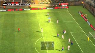 PES 2012 DEMO Unlock Teams Patch ( Barcelona 4 - 4 Real madrid ) Part 1