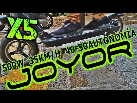 JOYOR X5s UN PATINETE QUE NO TE DEJARA INDIFERENTE! -UNBOXING & REVIEW- SOLORUEDA
