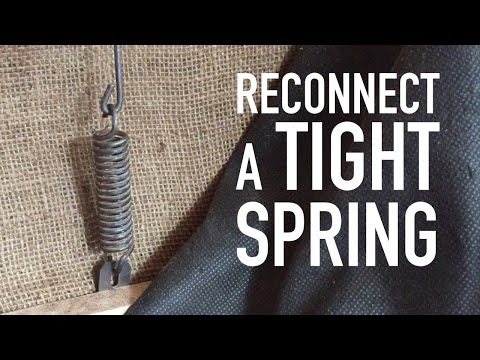 How to Replace Your Recliner Spring - Reclinercize
