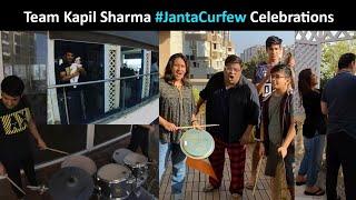 Gambar cover Team Kapil Sharma, FULL Bachchan FAMILY, Akshay, Kangana CLAP Hands, Vessels | #JantaCurfew