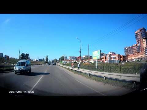 Авария в Никольском Ленинградской обл 26.07.2017