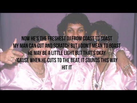J.J. Fad - Supersonic (Lyrics - Video)
