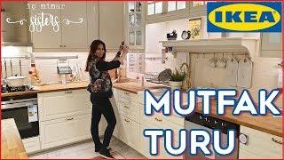 IKEA MUTFAK TURU #1 - 35 m2 MUTFAK & YEMEK ODASI - İç Mimar Sisters