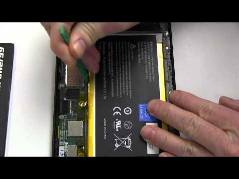 How to Replace Your Amazon Kindle Fire HD 7 (2013) - Видео с YouTube