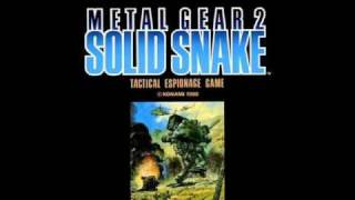 Metal Gear 2: Solid Snake Soundtrack Level 3 Warning