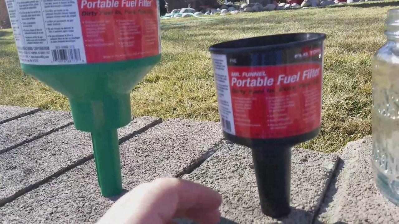 mr funnel fuel filter [ 1280 x 720 Pixel ]