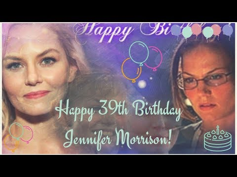 Happy 39th Birthday Jennifer Morrison!
