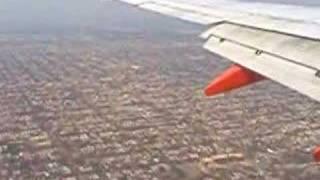 flying over chicago neighborhood