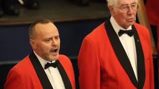 Oxford Town Hall 2016 with Morriston Rugby Club Male Voice Choir