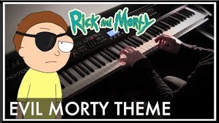 Repeat youtube video Rick and Morty - Evil Morty Theme (For The Damaged Coda) Piano Style Cover