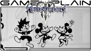 Kingdom Hearts 3 - A Closer Look at the Classic Kingdom Trailer (LCD Minigames!)