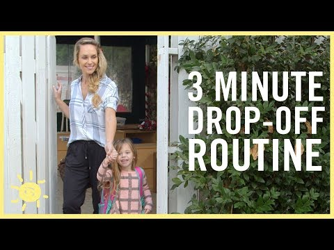 STYLE & BEAUTY | 3 MINUTE DROP-OFF ROUTINE