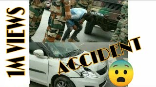 Indian Army Truck and Ajmer university Presidential candidate's Suzuki Swift Accident | NH8 |