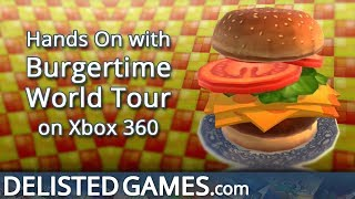 BurgerTime: World Tour - Xbox 360 (Delisted Games Hands On)
