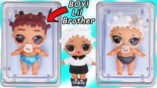 LOL Surprise Doll Fresh Gets New Lil Brother Punk Boi Boy + Secrets Color Changing Toy Surprises