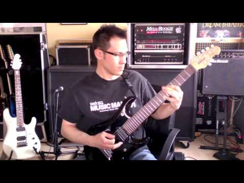 Daniel Fries (Affector) Ernie Ball MusicMan 7 String JP