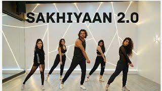 Sakhiyaan 2.0 | Bellbottom | Zumba Choreo | Akshay Jain Choreography