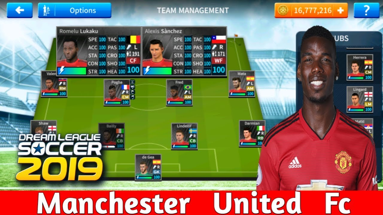 3ce5d908890 Manchester United Save Data DLS 19 Mod - YouTube