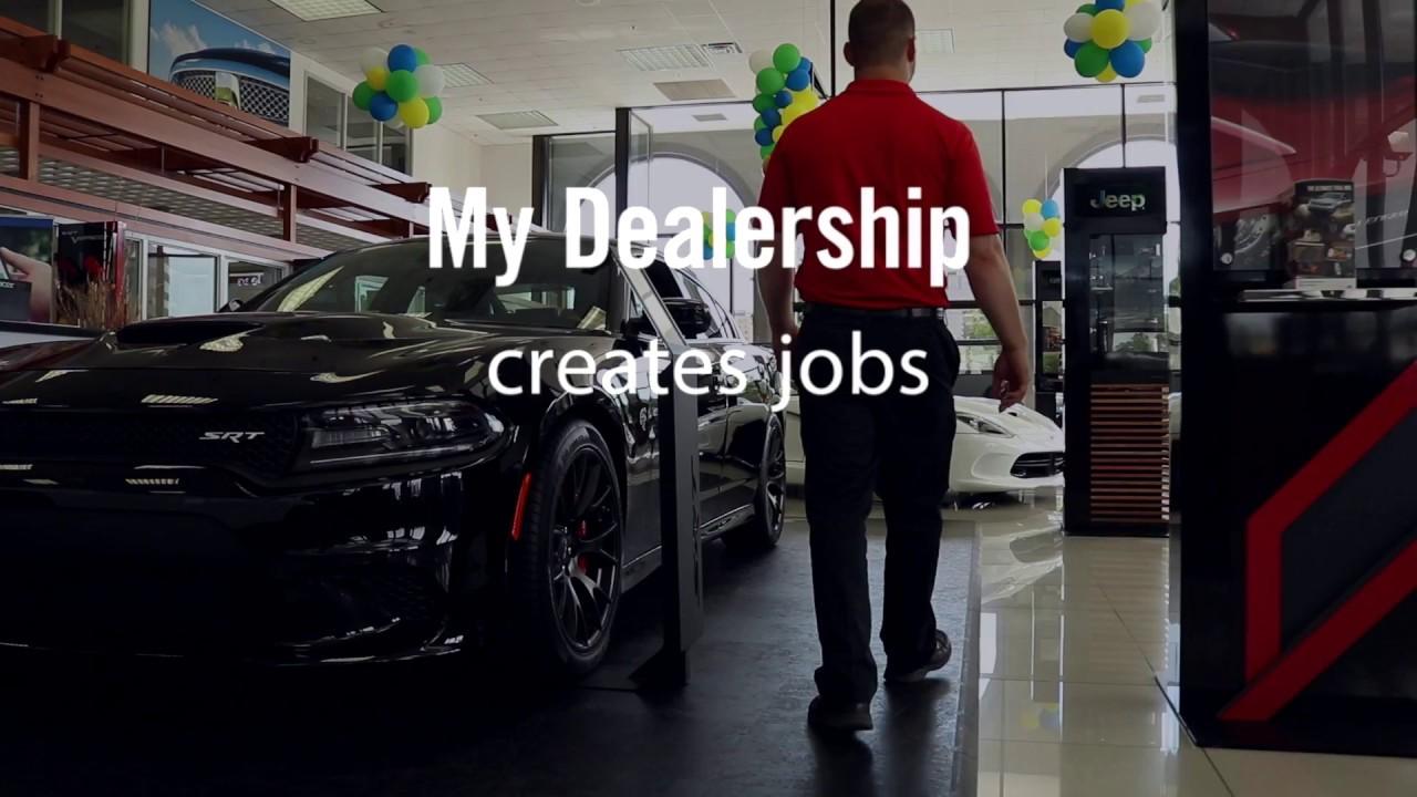 my dealership creates jobs youtube. Black Bedroom Furniture Sets. Home Design Ideas