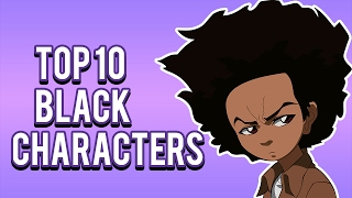 Top 10 Black Cartoon Characters - MarsReviews