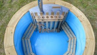 Wooden, Wood Fired Burning Hot Tubs for Sale - UK, Ireland, Scotland - TimberIN MB
