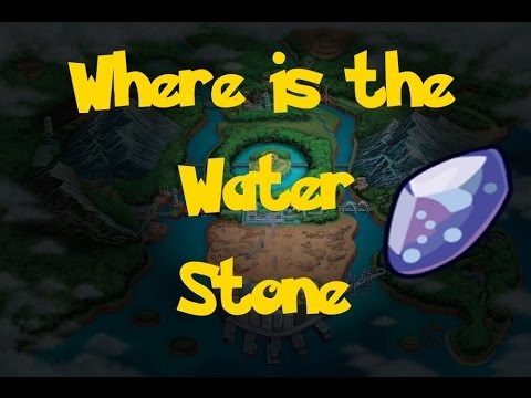 Where Is: The Water Stone (Location 2) (Pokemon Black 2 ...