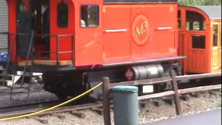 Mt Washington Cog Railway pt 1 of 2 08/18/14.