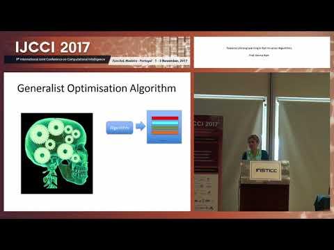 """Towards Lifelong Learning in Optimisation Algorithms"" Prof. Emma Hart (IJCCI 2017)"