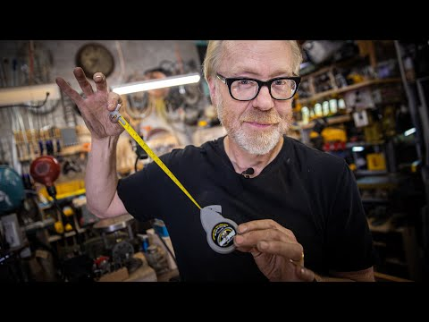 Adam Savage's Favorite Tools: Trammel Points and Rotape Beam Compass!