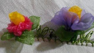 Organze Kurdele oyaları&MENEKŞE ÇİÇEĞİ&Forex flower,health flower, summer flower ,holiday flower
