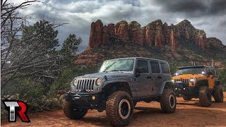 Sedona Off-Road - Broken Arrow Trail, Soldiers Pass, Schnebly Hill, Red Rock Powerline