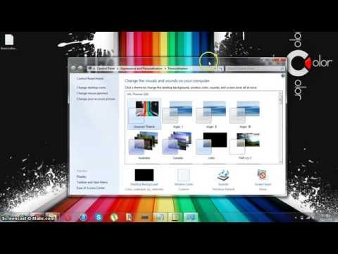 How To Get Personalization Panel  And Aero In Windows 7 Home Basic Or Starter