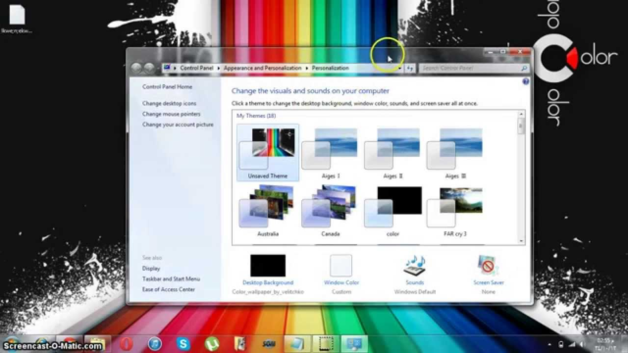 Download personalization panel for windows 7 starter and home.