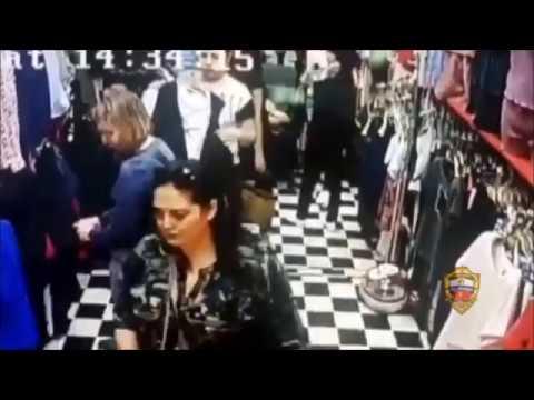 Мигранты чистят карманы и воруют кошельки на рынке гадюшнике «Садовод» в Москве 2018