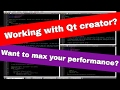 QT creator tricks - practical tips on how to maximize your productivity