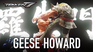 Tekken 7 - PS4/XB1/PC - Geese Howard (DLC Pack 2 Trailer)