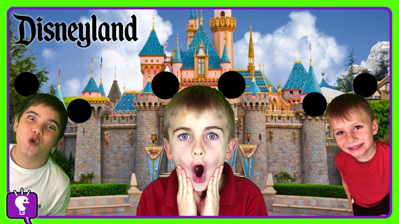 Vacation at DISNEYLAND California with HobbyKids! Amusement Park 2018