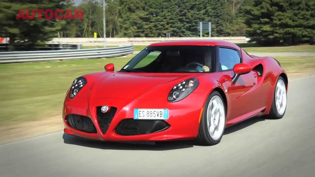 alfa romeo 4c first drive review youtube. Black Bedroom Furniture Sets. Home Design Ideas