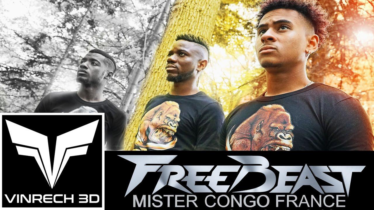 Les T-shirts FREEBEAST GORILLA X MISTER CONGO FRANCE