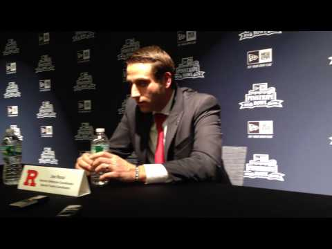 RVision: ST Coord. Joe Rossi Meets the Press #PinstripeBowl