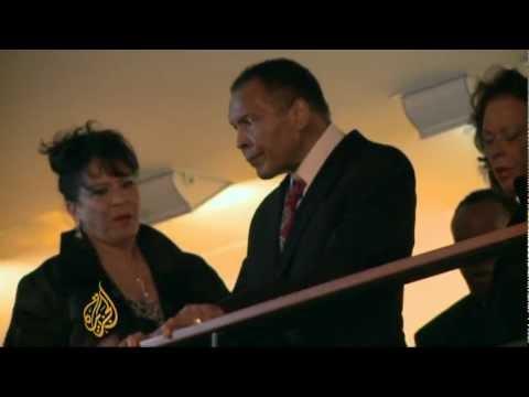 Muhammad Ali celebrates 70th birthday